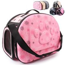 Small Dog & Cat Foldable Travel Carrier Handbag