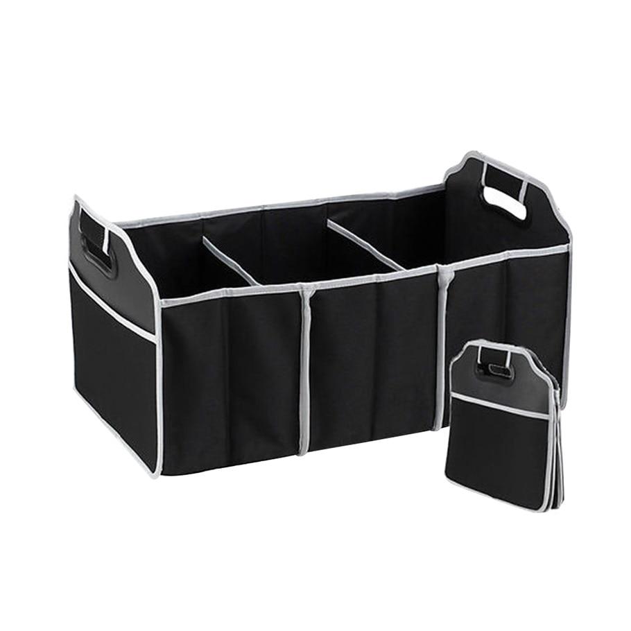 Auto Veranstalter Boot Zeug Lebensmittel Lagerung Taschen stamm veranstalter Auto Verstauen Aufräumen Interior Zubehör Folding Faltbare ~