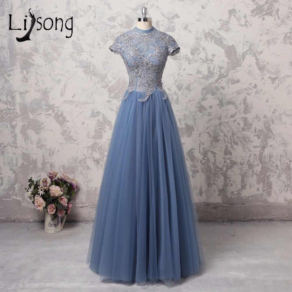 ... Half Sleeve Dusty Pink Bridesmaid Dress Floor Length Gray Pink Light  Blue Bridesmaid Dresses SW1989. US  33.25. 0.0 (0). 0 Orders. Vintage Dusty  Blue ... 04ef049e7273