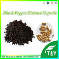 100%Natural and Pure  Losing Weight  Black Pepper Extract  Capsule 10:1  500mg*50pcs