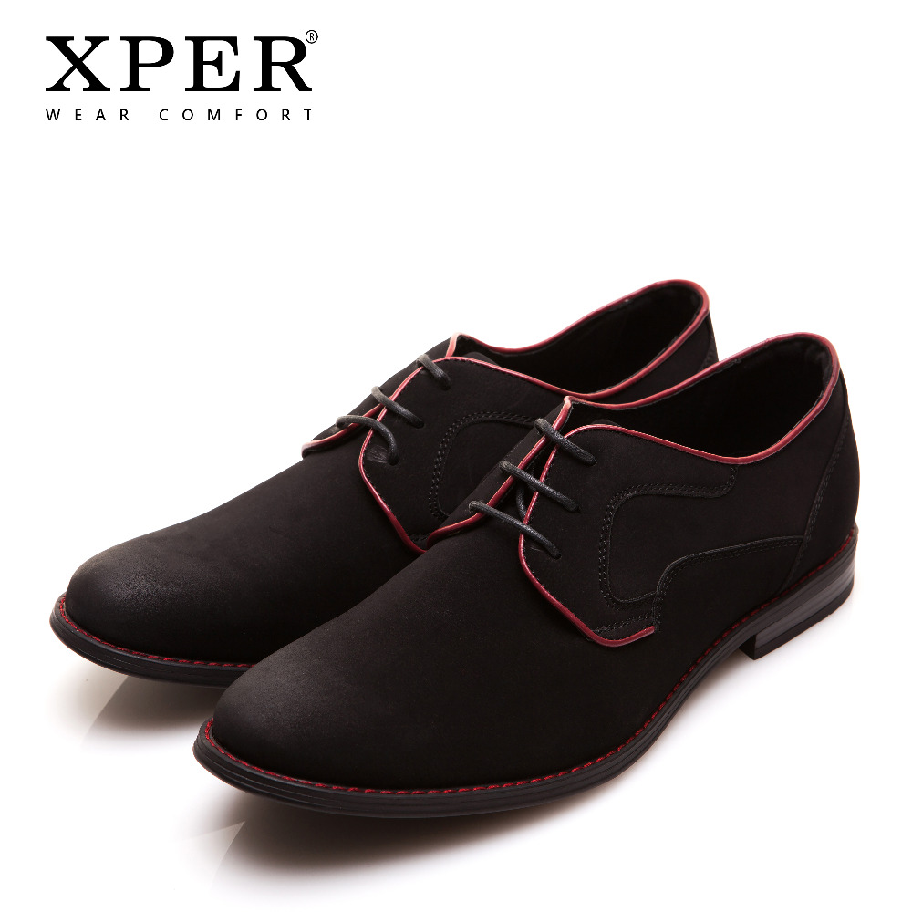 Size 40 46 Brand Xper Casual Men Dress Shoes Lace Up Wear