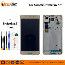 AMOLED 5.5 For Xiaomi Redmi Pro LCD Screen Display+Touch Digitizer Frame Lcd Display Touch