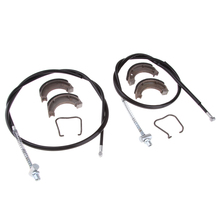 Motorcycle Front & Rear Break Cable Shoes for Yamaha50 Peewee50 PW50 Features High Temperature Stability