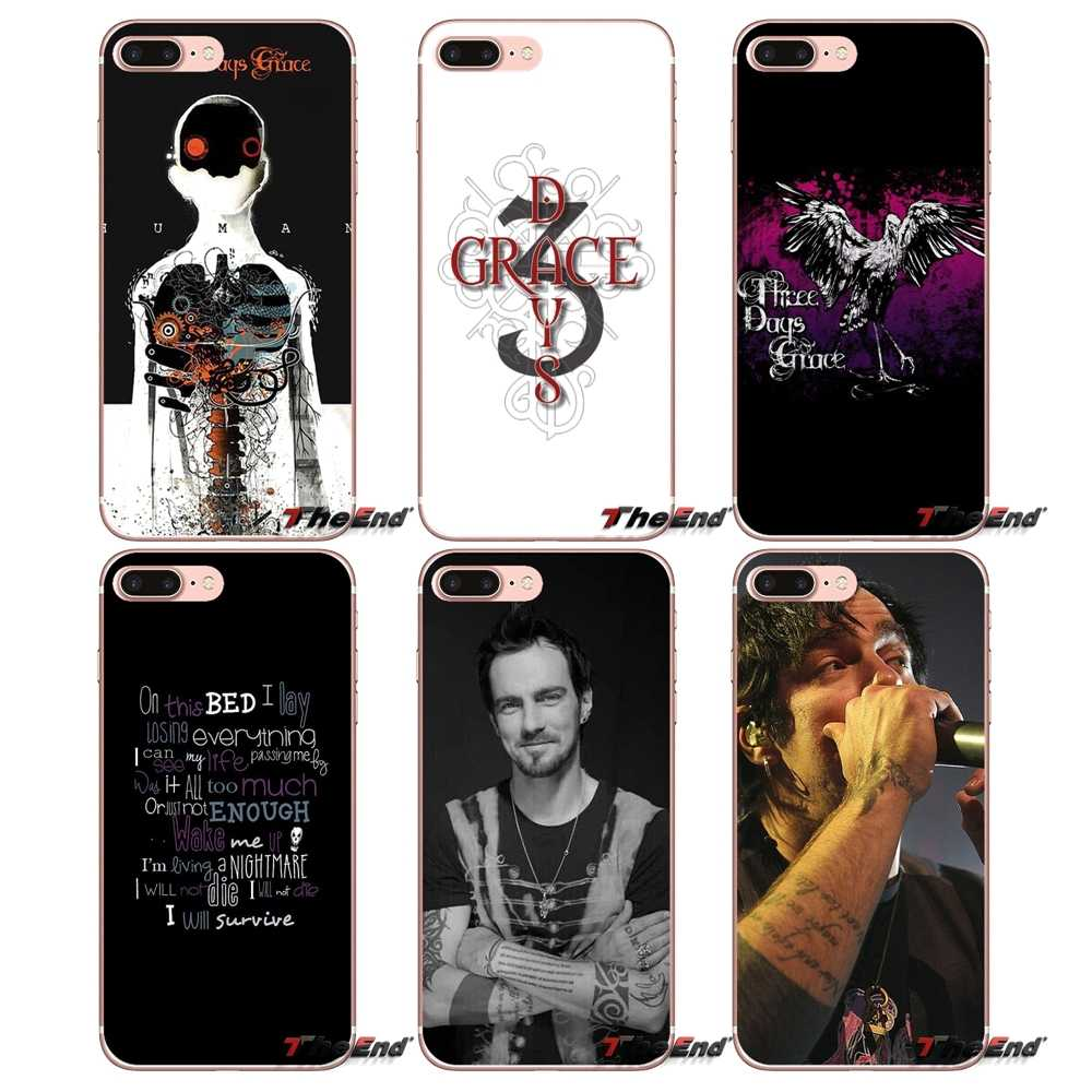 Design Case Three Days Grace TDG 3DG HUMAN For iPhone X 4 4S 5 5S 5C SE 6 6S 7 8 Plus Samsung Galaxy J1 J3 J5 J7 A3 A5 2016 2017