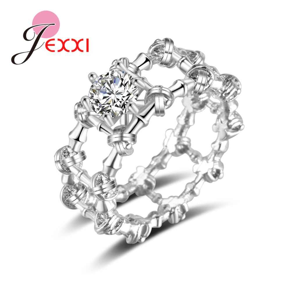 Twisted New Design Genuine 925 Sterling Silver Fashion Women Wedding Anniversary Gifts Jewelry High Quality Rings