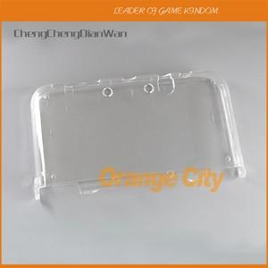 Image 1 - ChengChengDianWan прозрачный жесткий прозрачный чехол, защитный чехол для нового 3DS XL/LL NEW 3dsxl 3dsll, кристальный протектор, 20 шт.