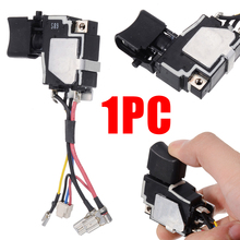 1Pcs Switch 18V For Makita 6507228 DTD134 BTD134 BTD146 DTD146 BTD134Z TD134D Replacement Replacement Parts Supply genuine switch for makita 650759 5 djr187 djr360 djv140
