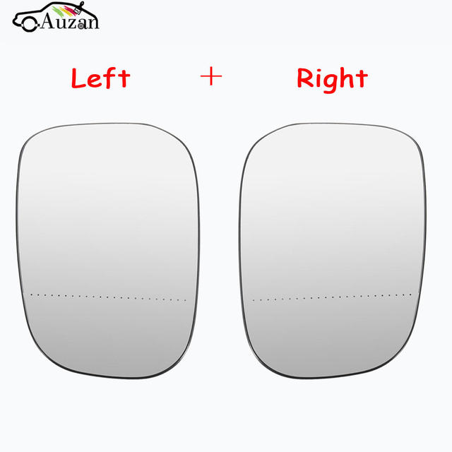 اليسار واليمين الجانبية الباب مرآة الزجاج ساخنة لل G48/فولفو c30 c70 s80 v50 (07 09) 3001 897