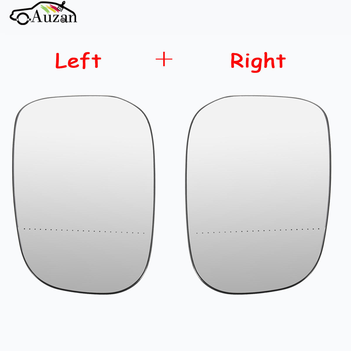 Left & Right Side Heated Door Mirror Glass For G48/ Volvo C30 V50 C70 S80 (07-09)  3001-897