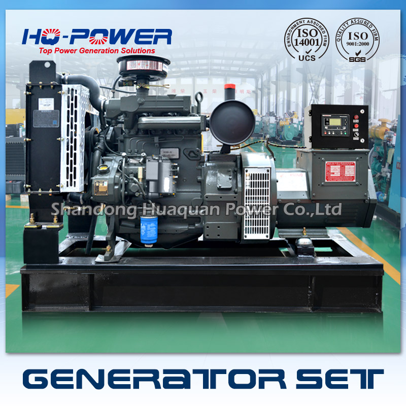 Free shipping powered by deutz engine diesel generator 30kw