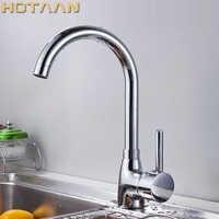Brass Quality Guarantee! kitchen sink tap ,kitchen mixer,round swivel Kitchen Faucets,torneiraYT-6019