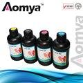 4x250ml Real UV ink Aomya 3D printing  UV LED curable Ink Suit for Epson printerhead