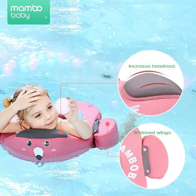 Solid Geen Opblaasbare Veiligheid Baby Zwemmen Ring Drijvende Zwemmen Ring Float Zwemmen Trainer Zwembad Geschikt Voor 2-5 jaar Oud
