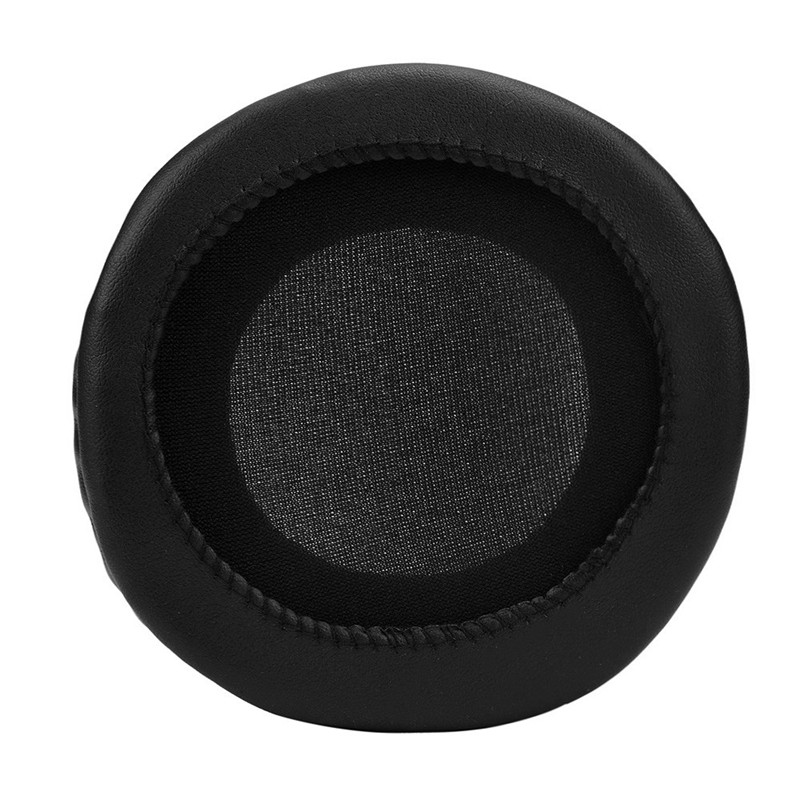 HIPERDEAL Popular Ear Cushion 1 Pair Protein Leather Replacement Ear Pads 100MM Headphones High Quality Black EarPads Set4