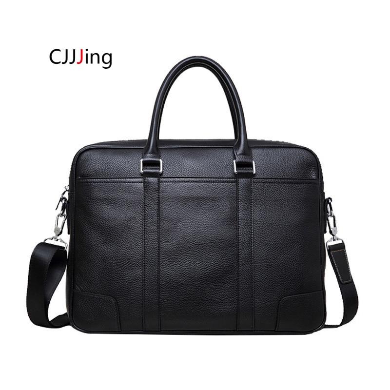 Hommes bureau affaires sacs à main pochette d'ordinateur épaule Messenger sacs sac à bandoulière hommes mallette CJJJing