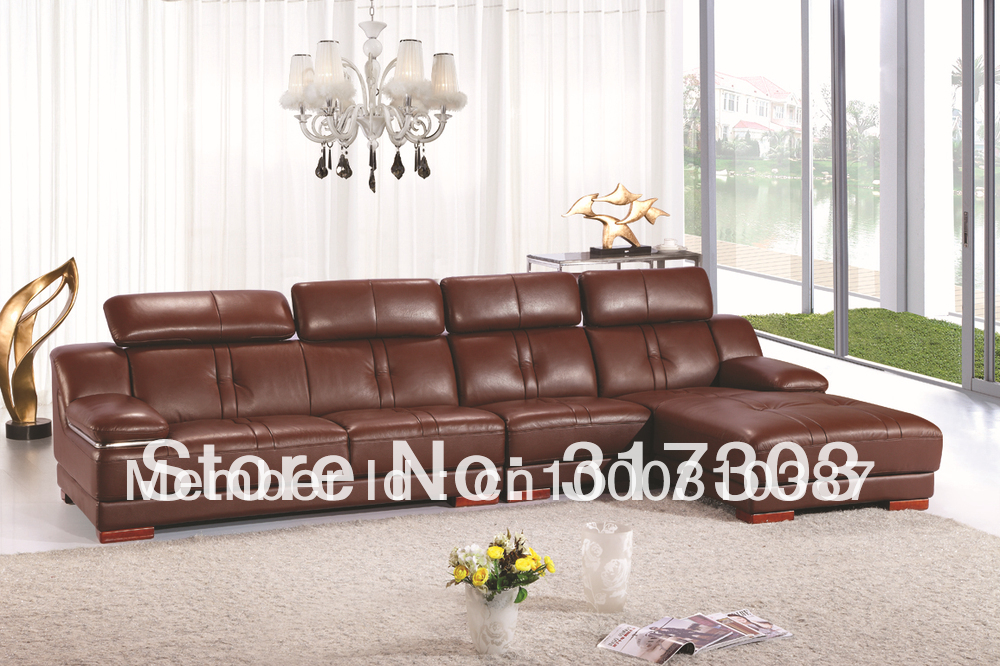 Sofa Leather Corner Living Room Furniture Sectional Factory Export Whole Offered C58 In Sofas From On