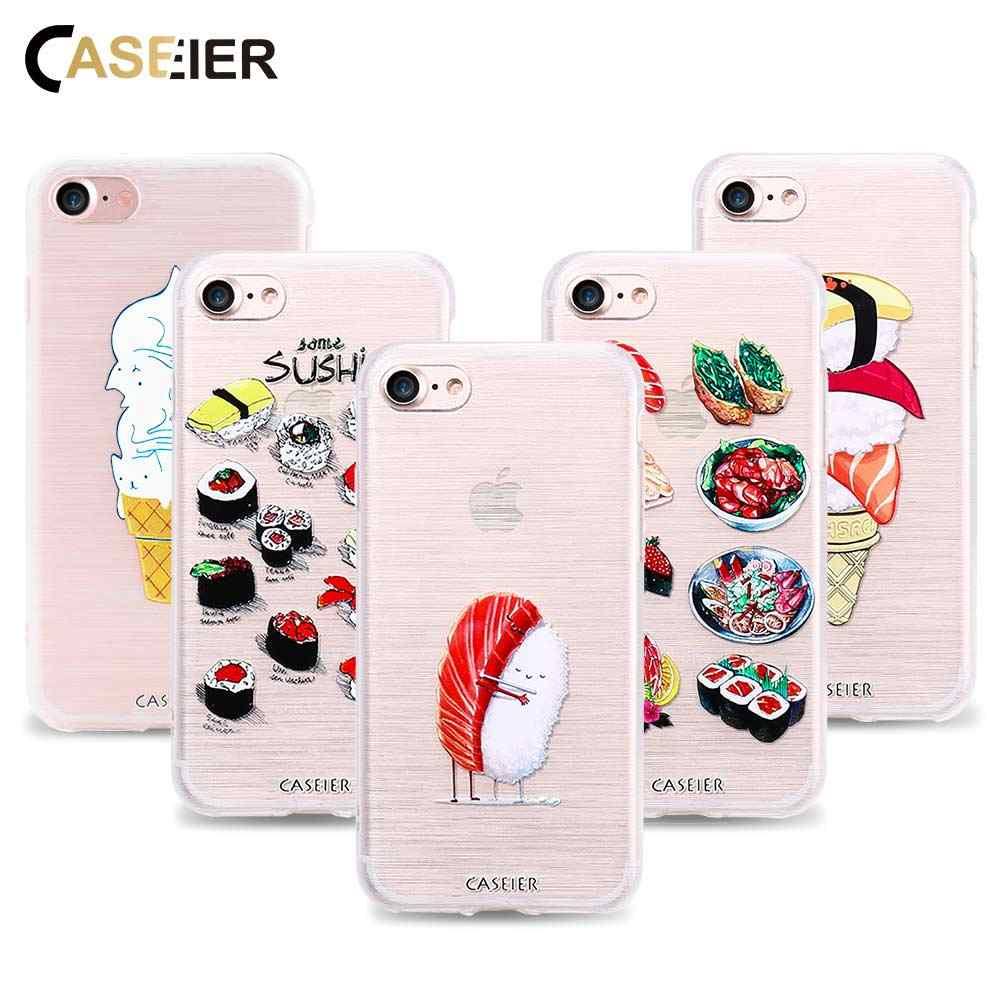 1c18610624 Detail Feedback Questions about CASEIER For iPhone 7 7 Plus 8 8 Plus Case  Soft TPU Ultra thin Cute Sushi Cover For iPhone 6 6s / 6 Plus 6s Plus Simple  ...