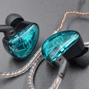 Image 5 - KZ AS06 Earphones 3BA Balanced Armature Driver HIFI Bass Headphones In Ear Monitor Sport Headset Noise Cancelling Earbuds Green