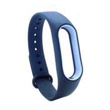 Colorful smart strap Double Color Replace Wrist Band For Xiaomi Miband Mi band 2 Smart Bracelet present
