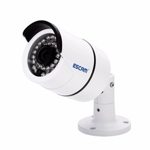 ESCAM QD410 4MP Bullet IP Camera H.265 Waterproof Home Surveillance CCTV Camera with IR Night Vision, Motion Detection free shipping dahua hac hfw1400b cctv camera 4mp hdcvi ir bullet camera ip67 without logo