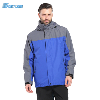 Goexplore Camping Hiking jacket Male Outdoor waterproof Windproof fishing tourism mountain sports coat winter jackets for men