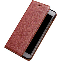 7 Color Genuine Leather Magnet Stand Flip Cover For Samsung Galaxy J7 2017 J7 Pro Case
