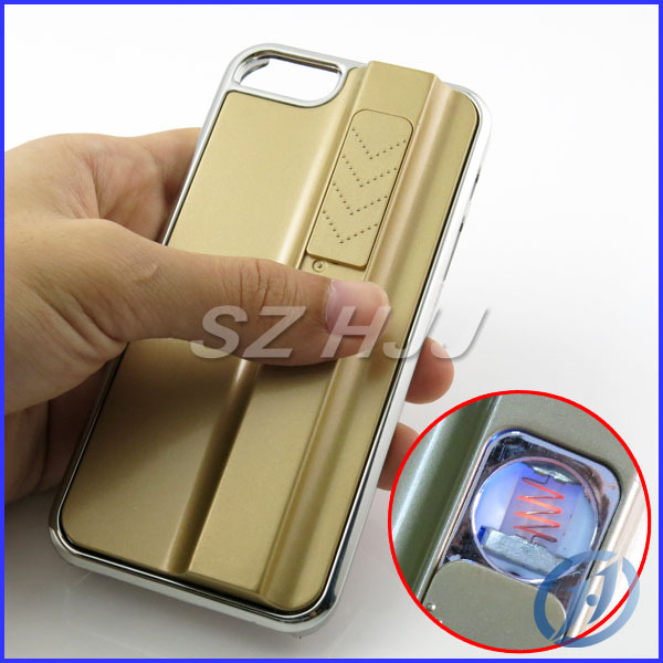 designer fashion 00cc3 540a1 US $63.7 |4 Colors Case For iphone 5 Lighting Man Style Rechargeable Zippo  Cigarette Lighter Protective Case For iPhone 5 5S Free Shipping on ...