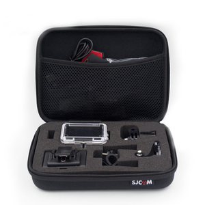 Image 4 - Original S/M/L taille stockage Collection sac étui pour SJCAM SJ8 pro/Plus/Air SJ4000 5000 SJ6 SJ7 M10 M20 H9 c30 accessoires de caméra