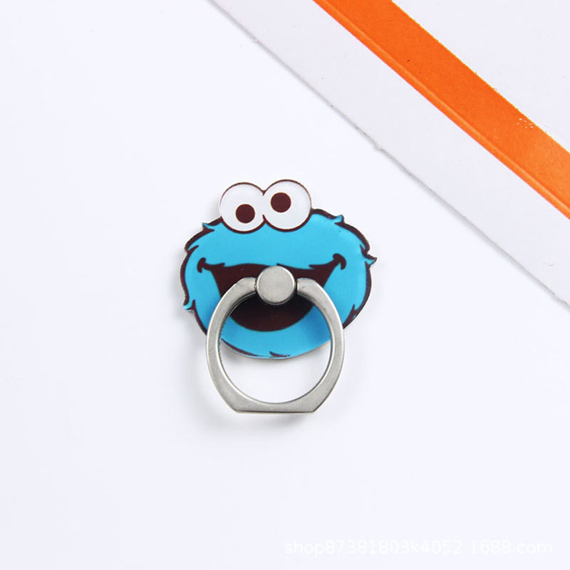 Universal Metal Popular hot Finger Ring Mobile Cell Phone Cute Cartoon phone Holder stand For iPhone 6s 7 8 plus Bracket holder in Phone Holders Stands from Cellphones Telecommunications