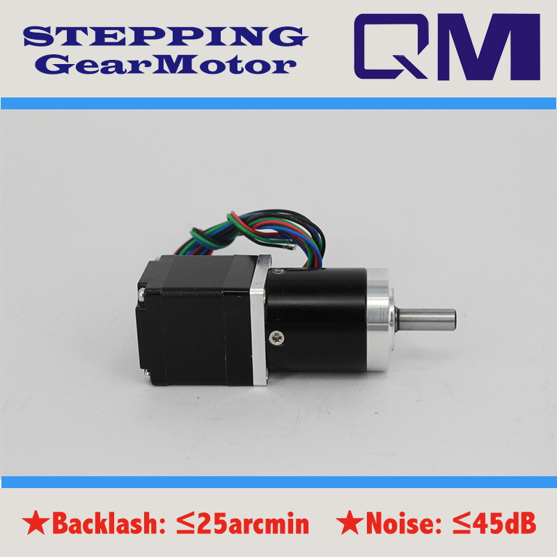 ФОТО Stepper motor nema 11 0.72Nm with planetary  gearbox ratio 12:1