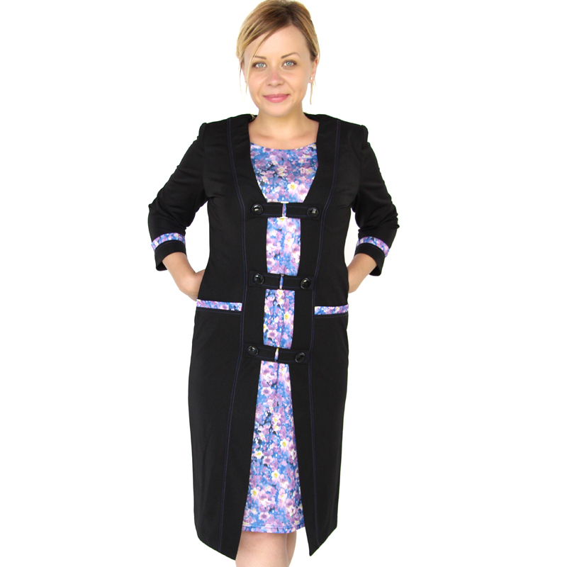 Buy Bfdadi Women Autumn And Winter Dress 2016 Vintage Style Floral Casual