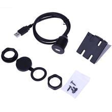 USB2.0 мужчина к USB2.0 женский заподлицо автомобильный Удлинительный кабель