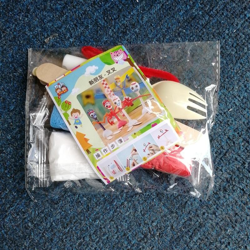 5-4-3-2-1pcs-Toy-Story-4-Forky-Alien-Woody-Kid-Craft-Handmade-Art-DIY (1)