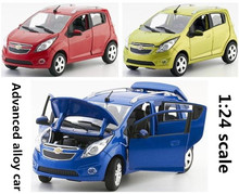 1:24 Advanced alloy car models,high simulation CHEVROLET,metal diecasts 6 open the door,collection toy vehicles,free shipping