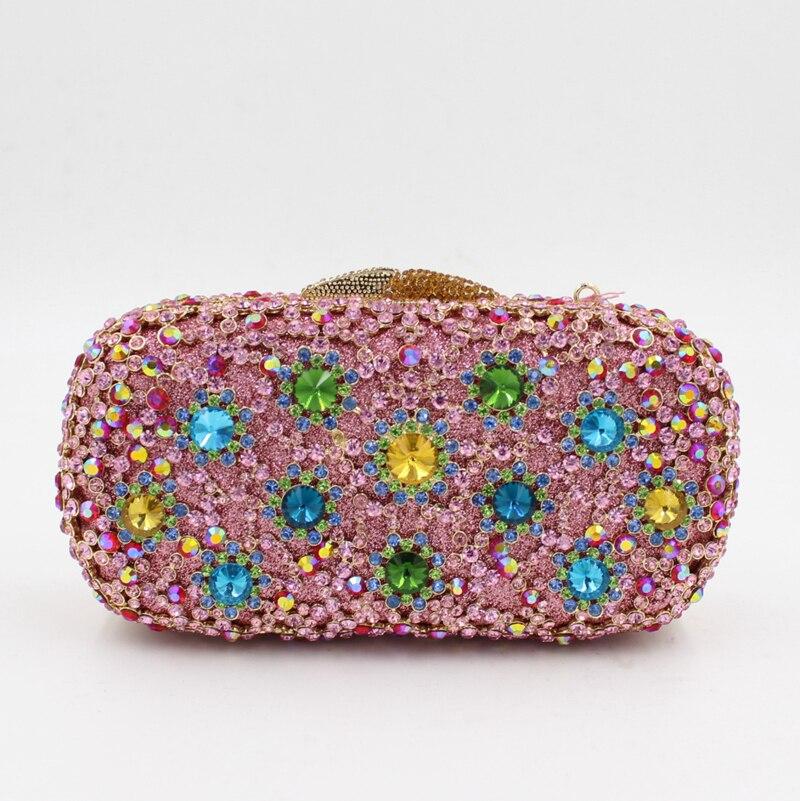 bags De Parti Bourse Sac Luxe Bags Embrayage Strass À Coloré Cristal e0348 Date Smyzh Main Soirée Sacs Femmes Mariage p8USOqt