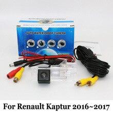 Telecamera posteriore Per Renault Kaptur 2016 ~ 2017/RCA Cablata O Wireless HD Wide Angle Lens CCD di Visione Notturna Del Veicolo Backup Telecamere