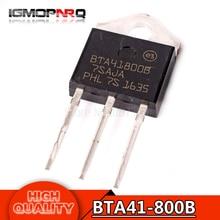 5pcs free shipping  BTA41-800B BTA41800B BTA41-800 BTA41 Triacs 40 Amp 800 Volt    TO-3P new original