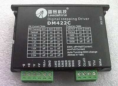 Leadshine DM422C CNC Microstep 2 Phase Digital Stepper Driver up to 2.2A 40V XWJ цена 2017