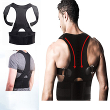 Adjustable Back Posture Corrector Magnetic Therapy Brace Shoulder Support Belt for Braces &