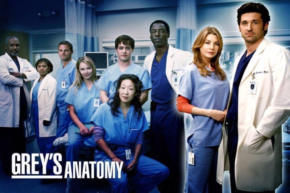 2072 Greys Anatomy TV Show Wonderful Wall Sticker Art Poster For ...