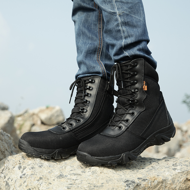 2019 Men military boots camouflage tactical combat boots  2