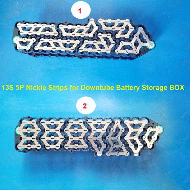 13S 5P HaiLong Battery Box nickle strip for 48V or 54.6V Battery Box or 10S 6P pure nickle strip for 60pcs cell assembly