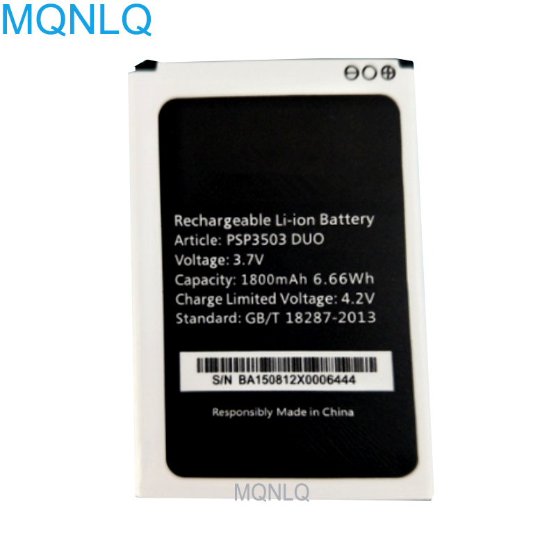 <font><b>PSP3503DUO</b></font> For <font><b>Prestigio</b></font> Wize C3 PSP3503 DUO PSP 3503 Battery Replacement MQNLQ image