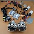 SINOLYN Car Styling 2.5 polegadas HID Bi xenon Lente Do Projetor Do Farol LHD/RHD Kit Completo Lentes Dos Faróis H4 H7 4300 K 5000 K 6000 K