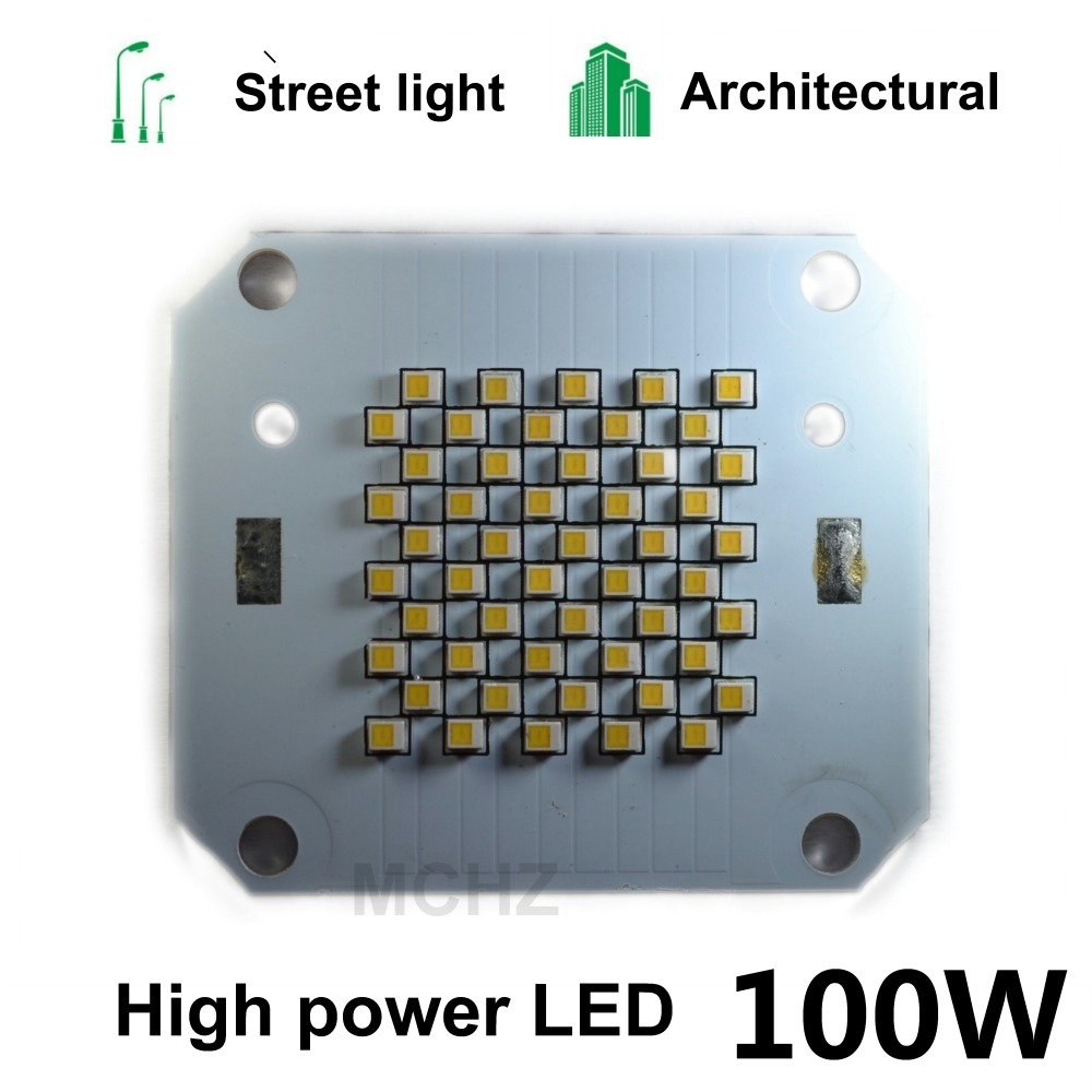 3Pcs 100W LED Light Chip DC 28V 30V 32V 34V 36V High Power COB Integrated Diode LED Lamp Chip Light Beads DIY Floodlight