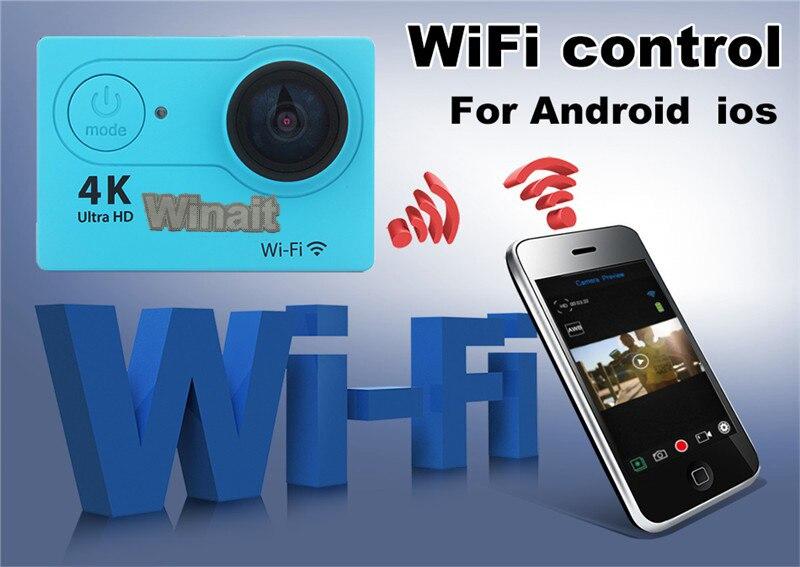 100% QualitäT Winait Tragbare Mini Action Sport-kamera 4 Karat 25fps 30 Mt Unterwasser Eingebautes Wifi Tf-karte Max Zu 32 Gb