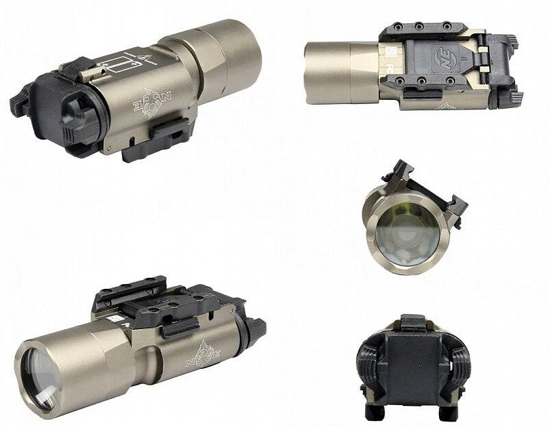 Evolução noite X300U Lanterna LED Luz Arma