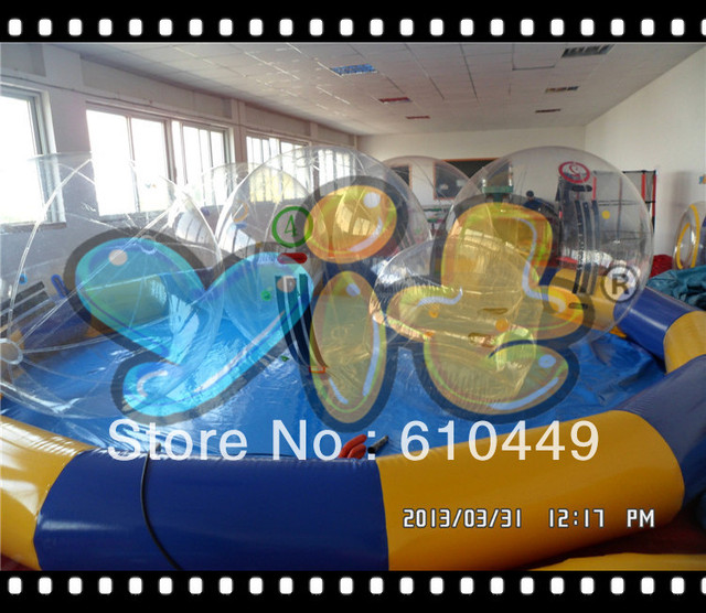 top quality inflatable swimming pool for  water walking ball
