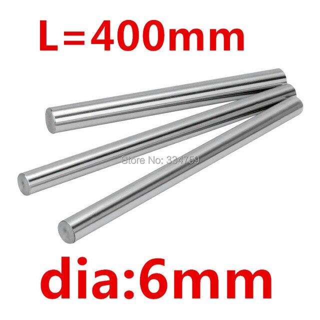 Мм 2 шт. 6 мм линейный вал мм 400 длина линейный вал упрочненный линейный стержень для XYZ ЧПУ Запчасти ЧПУ