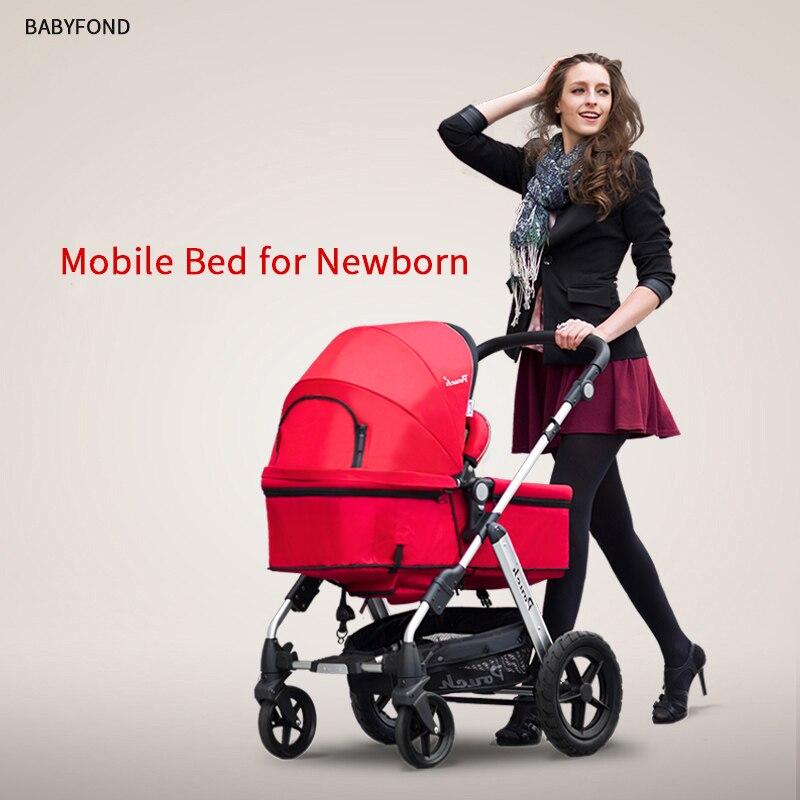 Pochette bébé poussettes EU standard bébé landau 2 en 1 0-36 mois bébé poussettes chariot de nombreuses couleurs envoyer des cadeaux gratuits livraison gratuite